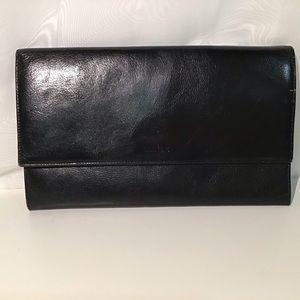 Danier leather travel wallet